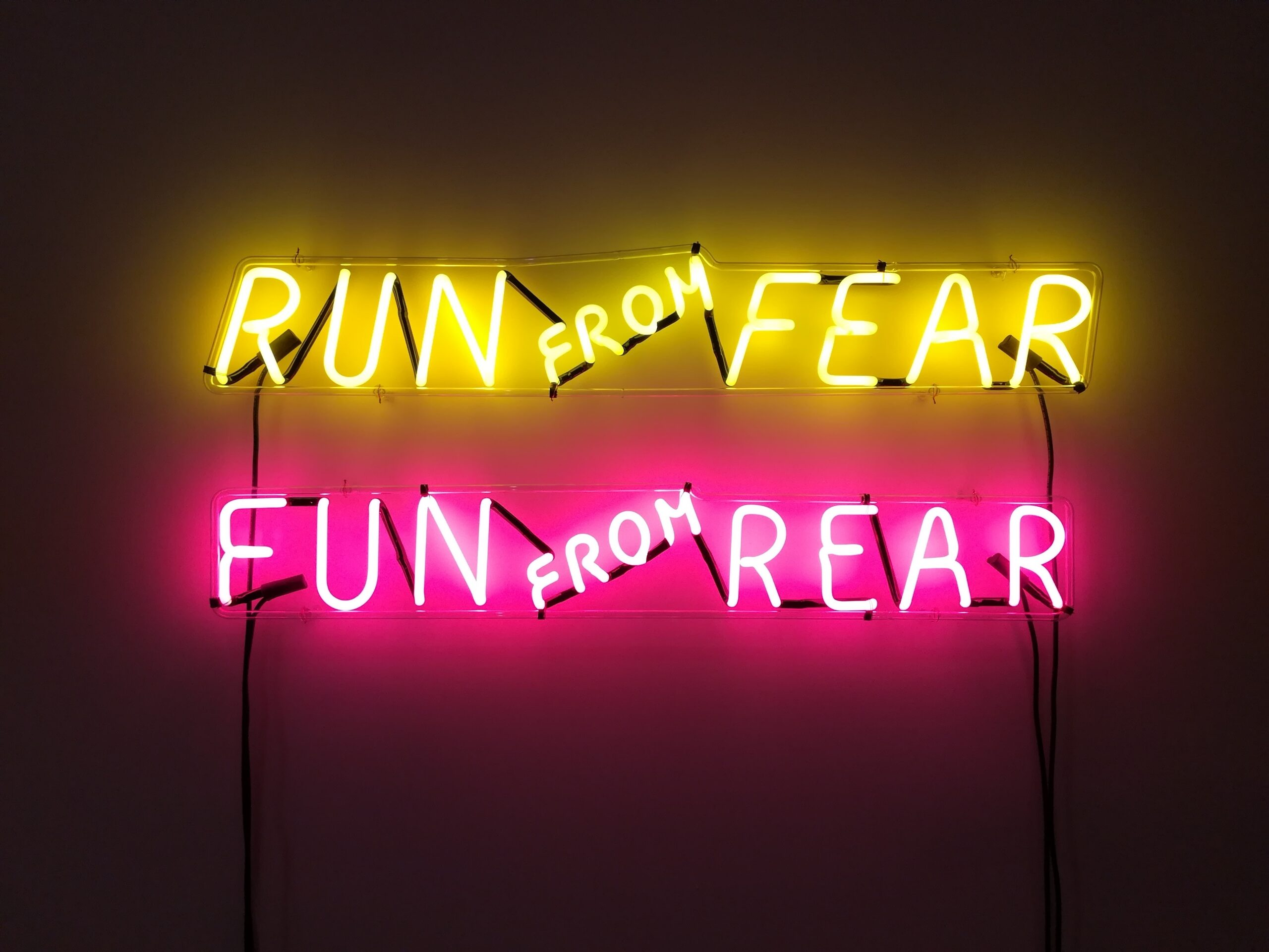 Pushing past the fear with action, daily.